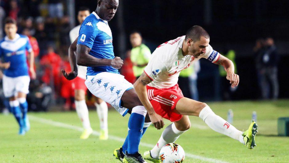 Juventus schlägt Brescia bei Balotellis Rückkehr zur Serie A mit 2: 1
