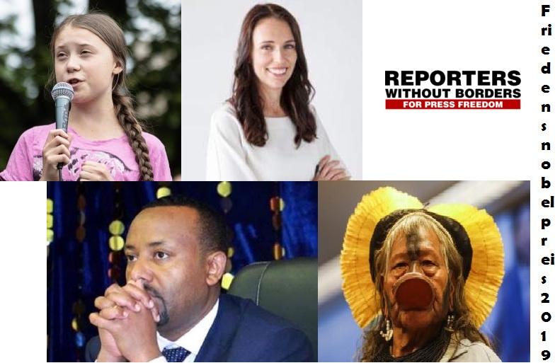 Wer sind die Favoriten des Friedensnobelpreises 2019 und wann werden sie bekannt gegeben ?: Was Sie wissen sollten