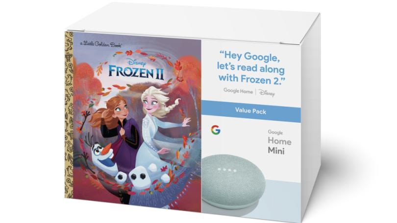 Holen Sie sich ein Google Home Mini mit einem Disney Frozen II-Buch für 20 US-Dollar