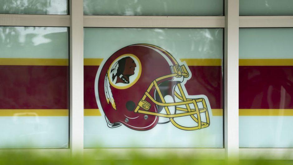 Elektronisch Kunst to entfernen Washington Spitzname , logo von Verrückt machen NFL 21