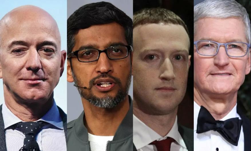 Der Kongress ist dabei, die CEOs von Amazonas, Apple, Facebook und Google zu grillen
