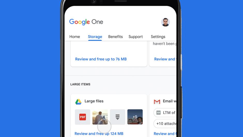 Geben Sie Speicherplatz in Ihrem Google-Konto frei, damit Sie Ihr Telefon sichern können