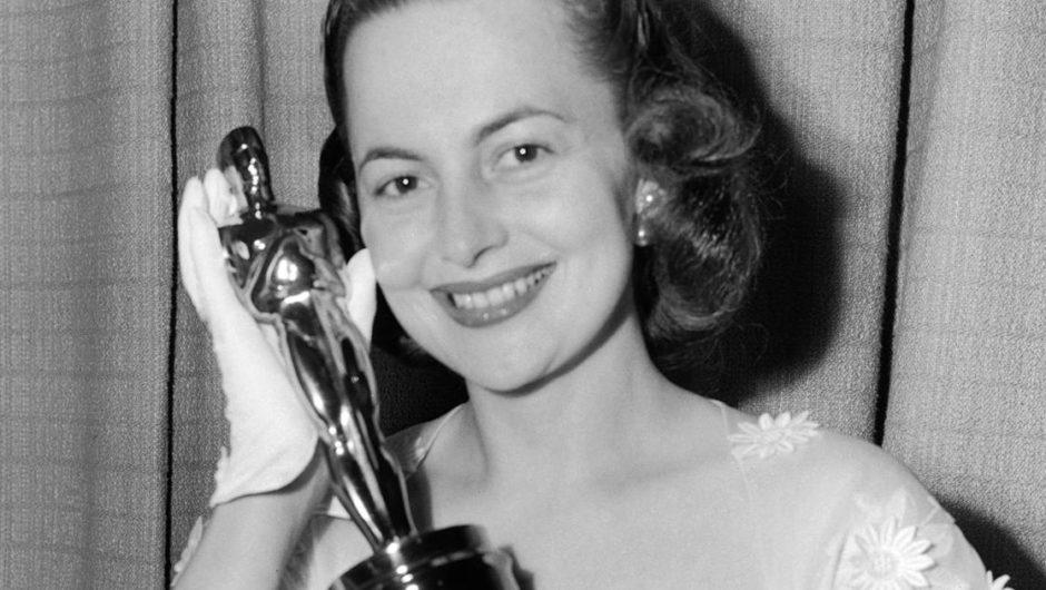 Auf und neben dem Bildschirm zeigte Olivia de Havilland Grit und Anmut