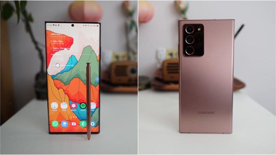 Samsung erkennt die von einigen Besitzern verursachten Mängel des Galaxis Hinweis 20 Ultra an