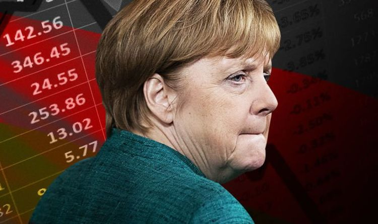 Die deutsche Wirtschaft hatte den größten Einbruch seit 50 Jahren.