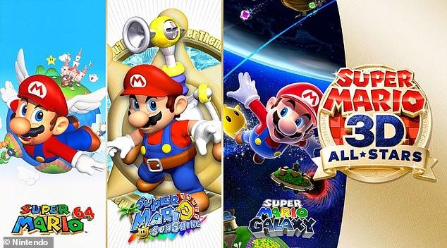 Nintendo bringt drei klassische Mario-Spiele auf den Switch, um den Weihnachtsumsatz zu steigern