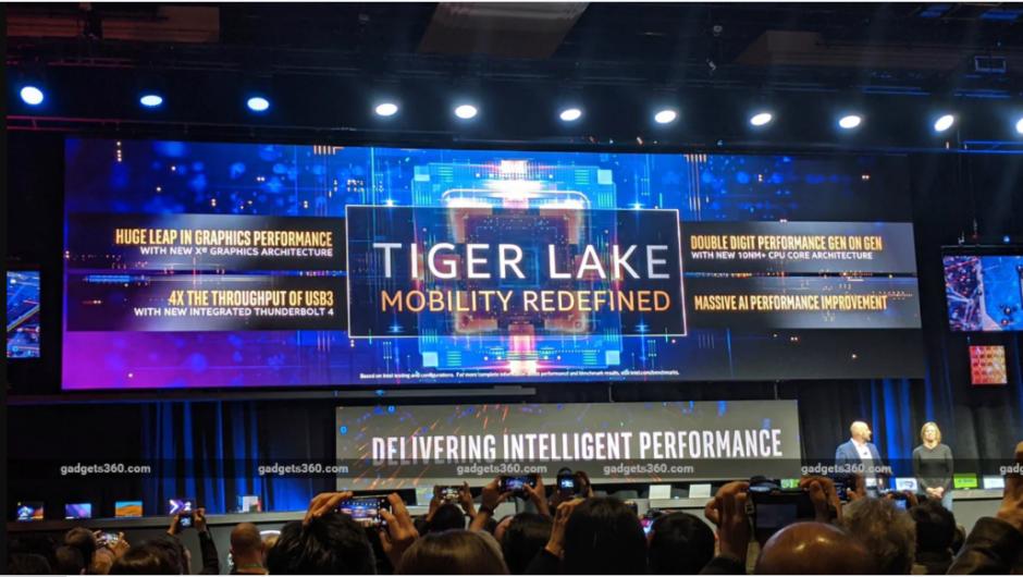 Impressionen vom Startereignis der Intel Tiger Lake Laptop-CPU