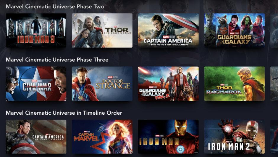 Disney Plus versteht endlich, wie Fans Marvel-Filme sehen wollen