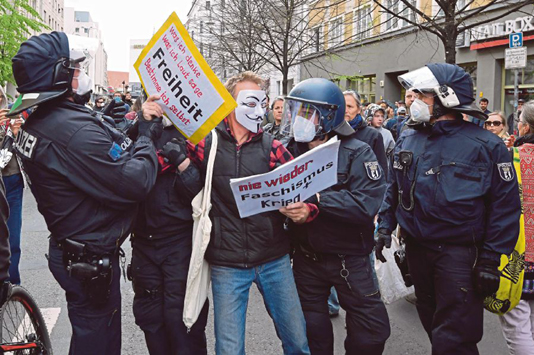 Deutsche Musiker protestieren stillschweigend gegen Sperren