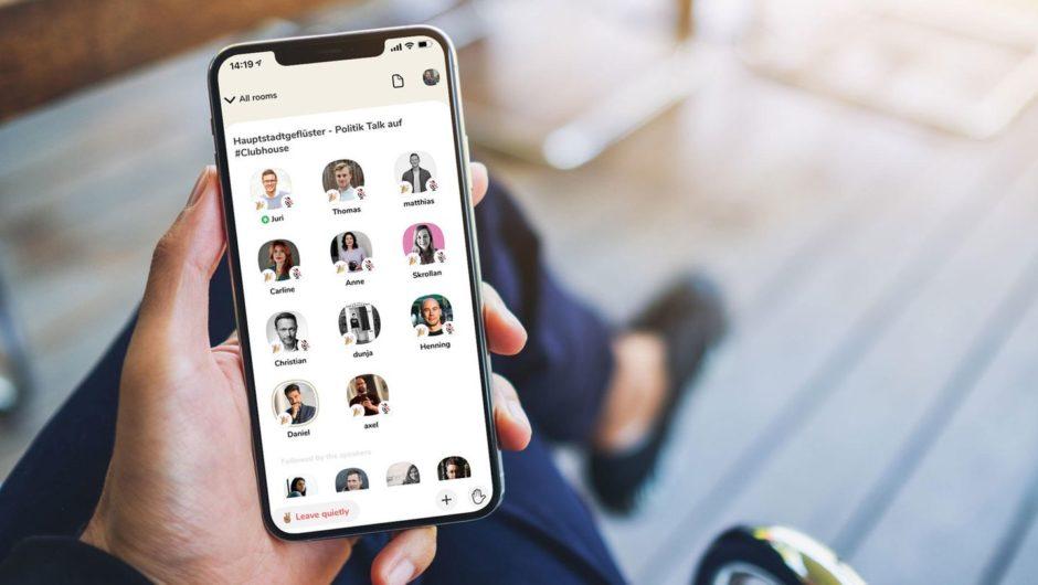 Hyped Audio-Networking-App Clubhouse gedeiht in Deutschland