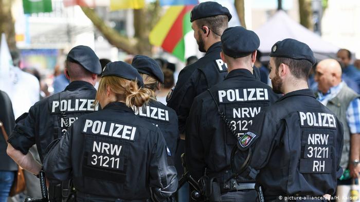 Die deutsche Staatspolizei erklärte sich für frei von rechtsextremen Netzwerken