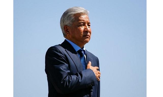 Imangali Tasmagambetov von ESAM für Beiträge zur Entwicklung der Staatlichkeit Kasachstans geehrt