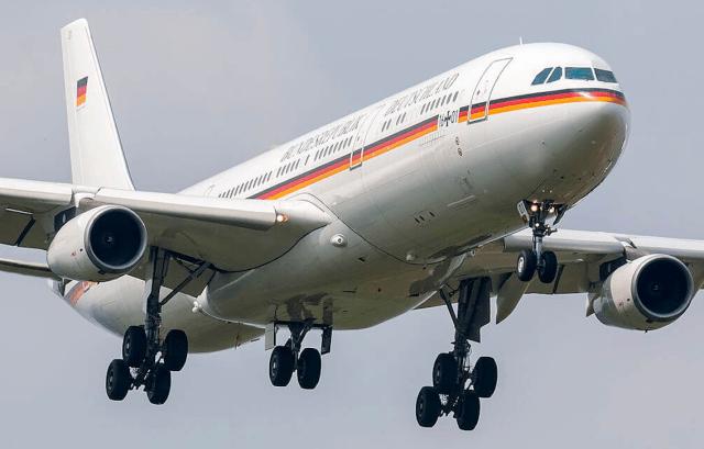Deutschlands VIP A350 schließt sich dem Kampf gegen Indiens COVID-Welle an