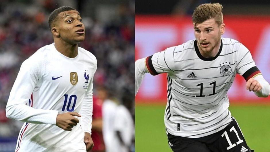 Heute bei der Euro 2020: Frankreich und Deutschland treffen aufeinander, wenn Sieger Portugal auf Ungarn trifft