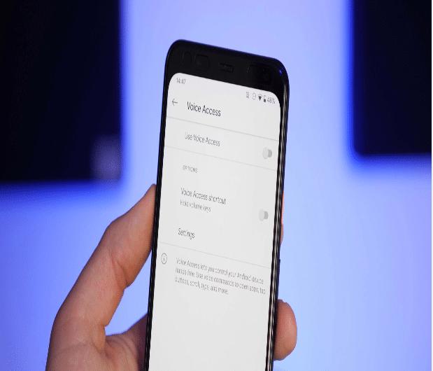 Voice Access auf Android erhält Verbesserungen bei der Blickerkennung und der Passworteingabe input